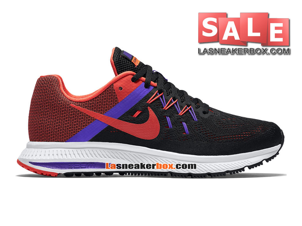 new product 032b3 bf6d2 Nike Wmns Zoom Winflo 3 - Chaussure de Running Nike Pas Cher Pour Femme Fille  ...
