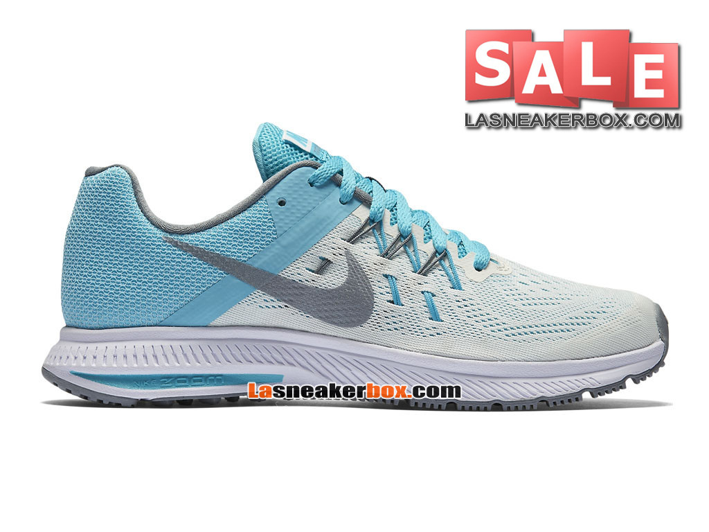 new product ae230 68ec2 Nike Wmns Zoom Winflo 3 - Chaussure de Running Nike Pas Cher Pour Femme Fille  ...