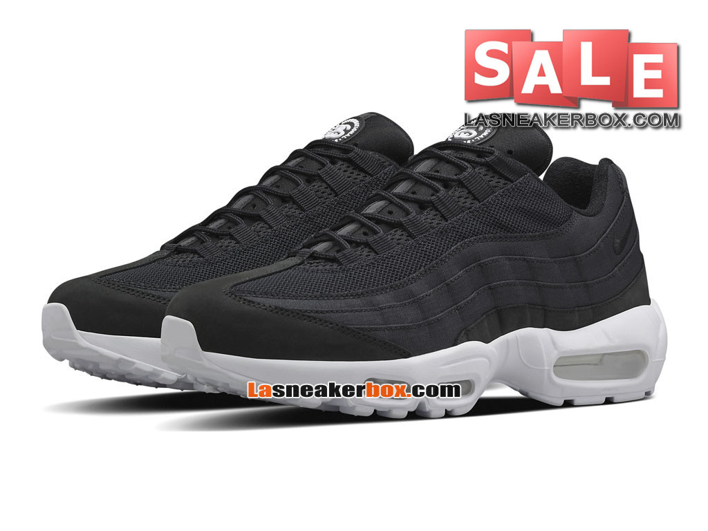 lowest price d4347 ac4f1 ... Nike X Stussy Air Max 95 QS - Chaussures Nike Sportswear Pas Cher Pour  Homme Noir ...