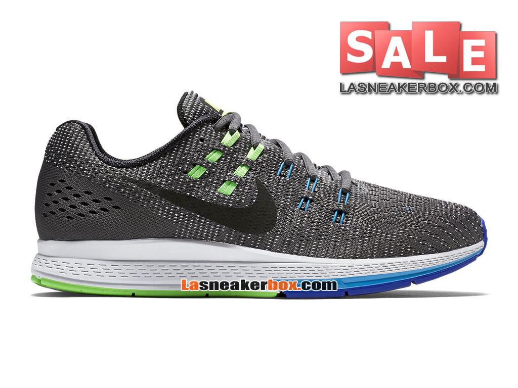Nike Zoom Winflo 3 Chaussure de Running Nike Pas Cher Pour Homme Gris foncéBleu lagonVoltNoir 806580 004 1611242603 Officiel de Chaussure Nike