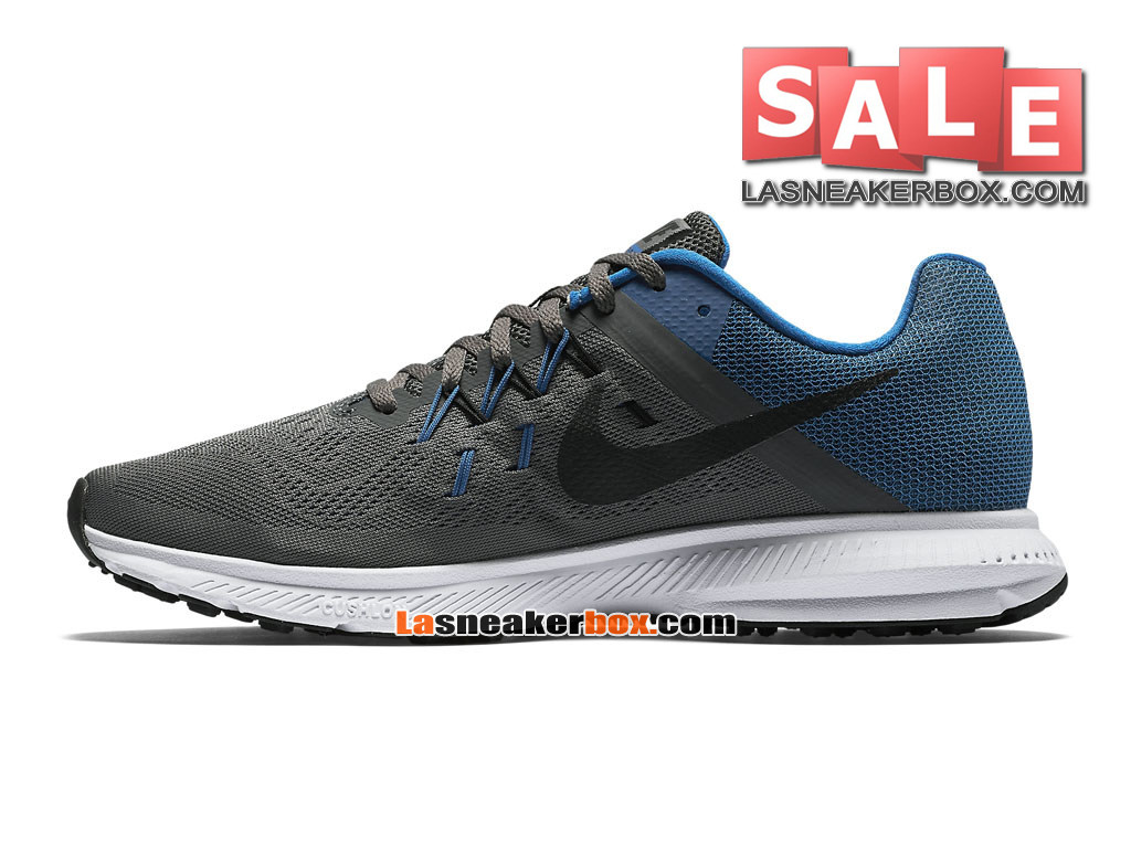 the latest 7f09d 6e408 ... Nike Zoom Winflo 3 - Men´s Nike Running Shoe Dark Grey Soar  ...
