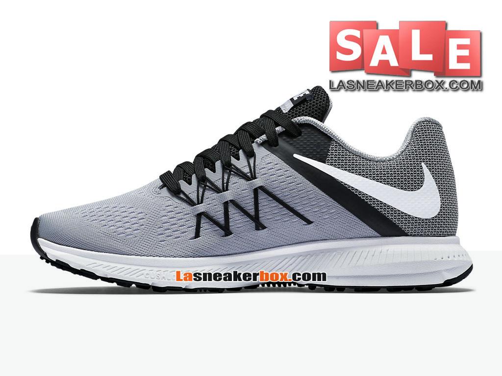 super popular 1301e b1253 ... Nike Zoom Winflo 3 - Chaussure de Running Nike Pas Cher Pour Homme Gris  loup  ...