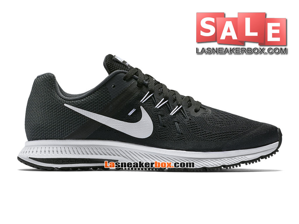 finest selection 41535 c7cc8 Nike Zoom Winflo 3 - Men´s Nike Running Shoe Black Anthracite White ...