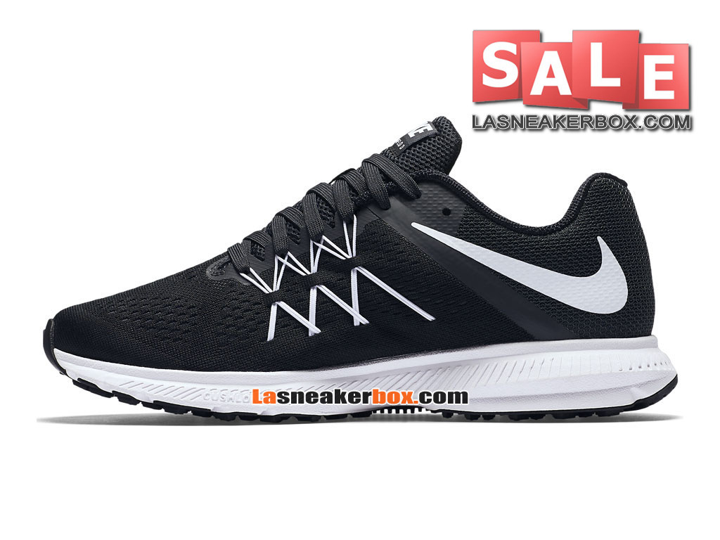 huge selection of 0ef53 b8c7d ... Nike Zoom Winflo 3 - Men´s Nike Running Shoe Black Anthracite White ...