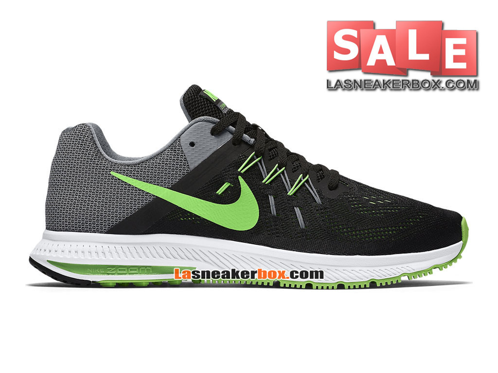 best service 9f5b3 78bc7 Nike Zoom Winflo 3 - Men´s Nike Running Shoe Black Cool Grey  ...