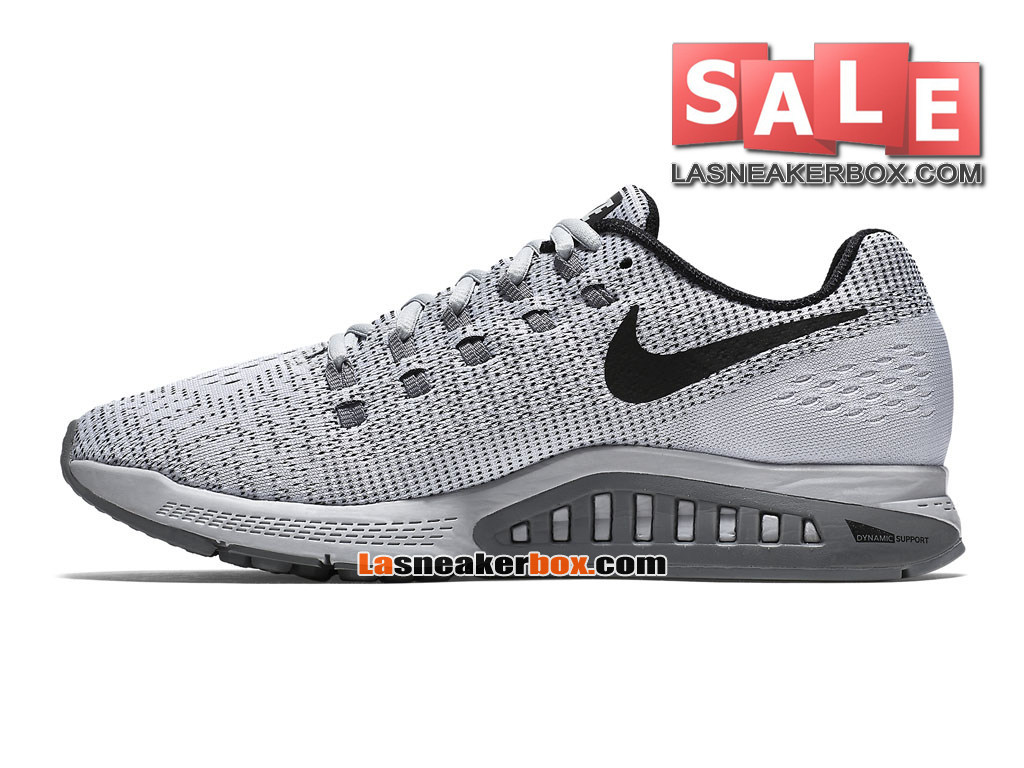 e670fd8941f ... Nike Zoom Winflo 3 - Chaussure de Running Nike Pas Cher Pour Homme  Platine pur  ...