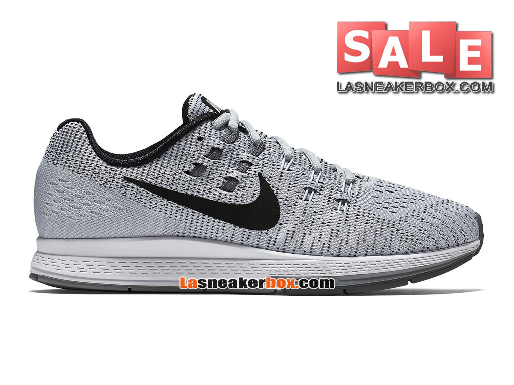 Nike Zoom Winflo 3 - Chaussure de Running Nike Pas Cher Pour Homme Platine pur/Blanc/Gris froid/Noir 806580-002