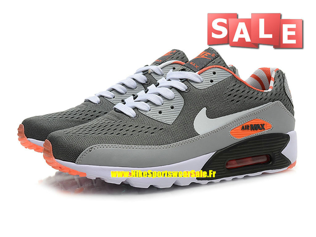 another chance f89bb d4ffa ... NikeiD Air Max 90 Ultra Mesh - Chaussures Nike Sportswear Pas Cher Pour Homme  Gris loup ...