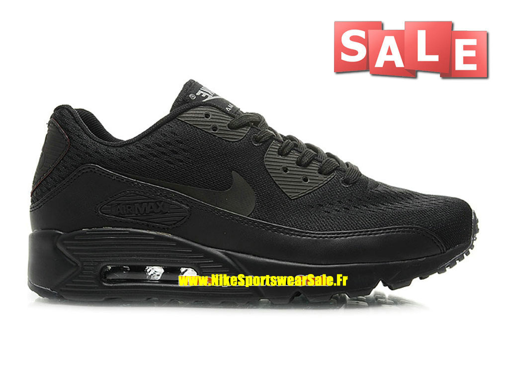 Nikeid air max 90 ultra mesh chaussures nike sportswear pas cher pour homme noir 599405 id07 for Peignoir eponge homme pas cher