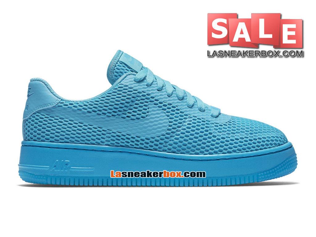 5cf99f318ea NikeLab Air Force 1 Low Ultra Flyknit - Chaussure Nike Sportswear Pas Cher  Pour Homme Bleu ...