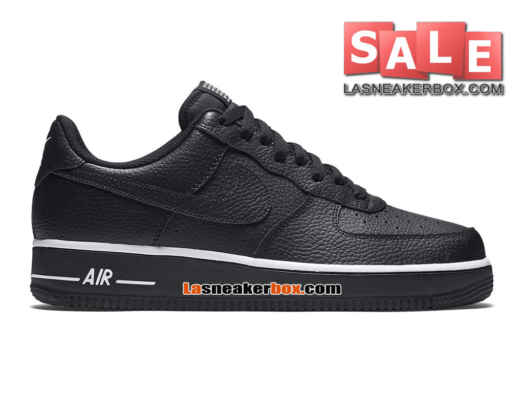 NikeLab Air Force 1 Low Ultra Flyknit - Chaussure Nike Sportswear Pas Cher Pour Homme Noir/Blanc/Noir 820266-001