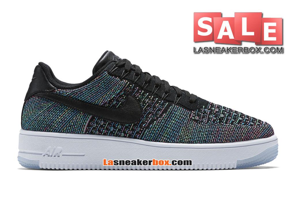 NikeLab Air Force 1 Low Ultra Flyknit - Men´s Nike Sports Shoe Black/