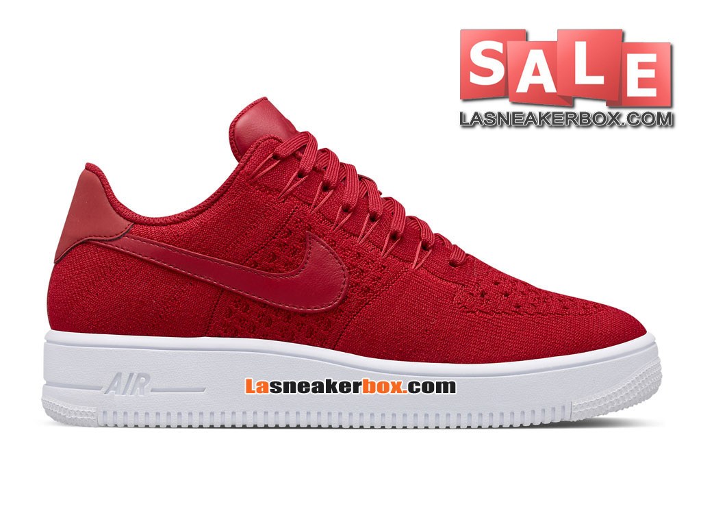 best website 92d2f 1b334 Nike Air Force 1 High Ultra Flyknit - Men´s Nike Sports Shoe Gym Red