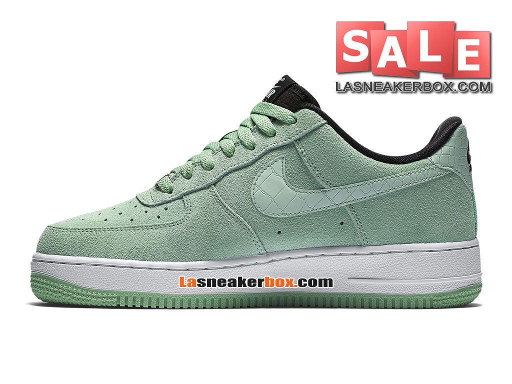 low priced 3c449 e2a2b ... NikeLab Air Force 1 Low Ultra Flyknit - Chaussure Nike Sportswear Pas  Cher Pour Homme Vert ...