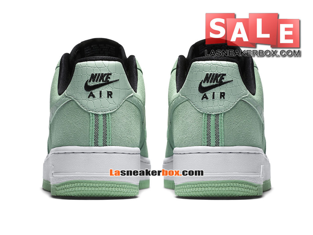 new styles 71bac d96f2 ... NikeLab Air Force 1 Low Ultra Flyknit - Chaussure Nike Sportswear Pas  Cher Pour Homme Vert