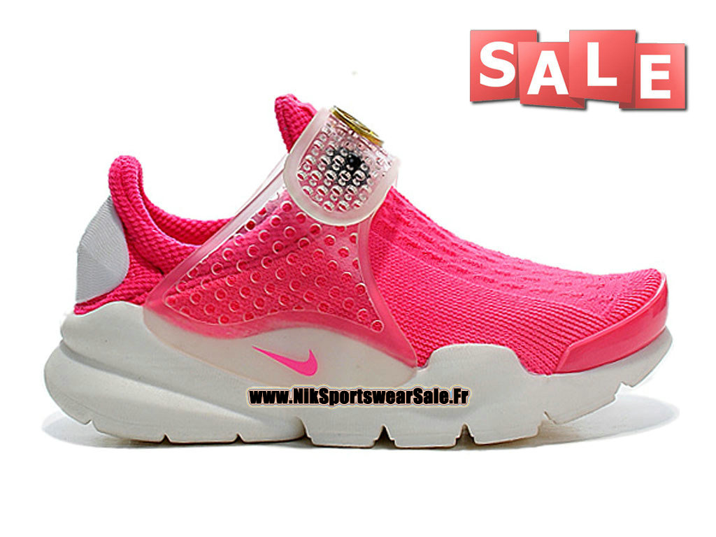 NikeLab Sock Dart SP PS - Chaussures Nike Sportswear Pour Petit Fille Rose framboise/Blanc 686058-661E