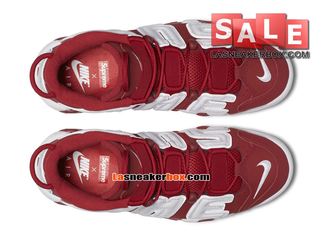 680485a5cece ... Supreme x NikeLab Air More Uptempo SP - Men´s Nike LifeStyle Sneakers  Varsity Red ...